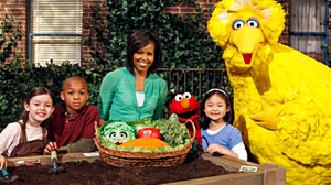 Photo: Sesame Street 40th Anniversary
