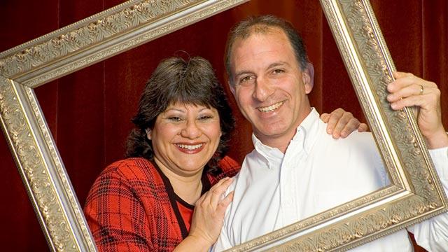 PHOTO:Steve and Annette Economides