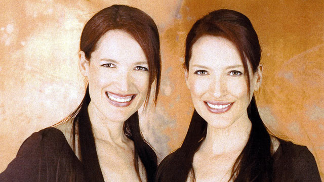 """PHOTO:""""Psychic Twins"""" Linda and Terry Jamison have built careers from using what they call """"twin-tuition."""""""