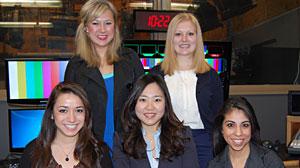 Photo: The ABC News on Campus spring 2011 University of Texas bureau.