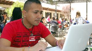 University of Texas senior Antonio Del Bosque will graduate with three bachelors degrees in May.