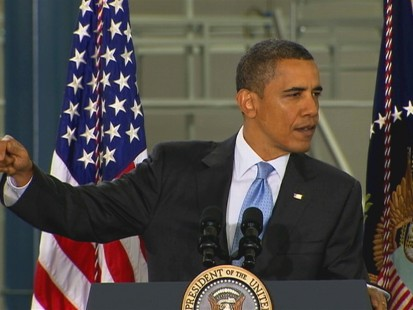 VIDEO of the President addressing the oil spill at a solar power plant in California.