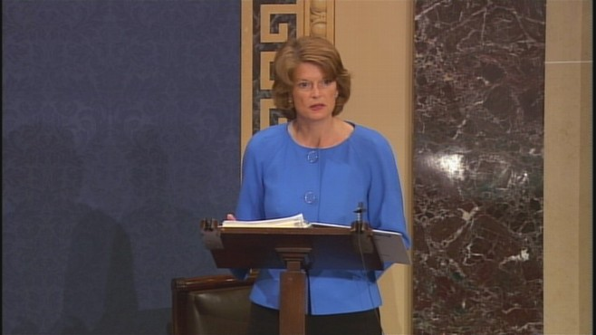 VIDEO of debate on the Senate floor about the power of the EPA to regulate carbon emissions.