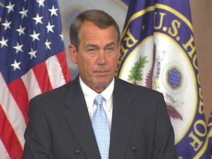 VIDEO of Congressman John Boehners weekly press conference