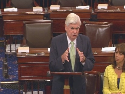 VIDEo of Senator Dodd on the Senate floor speaking about Wall Street Reform Bill.
