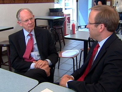 VIDEO of Jonathan Karl interviewing Rep. Mike Castle about his primary race