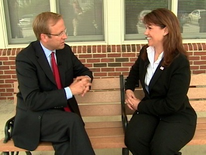 VIDEO of Jonathan Karl interviewing Delaware Tea Party candidate, Christine O?Donnell