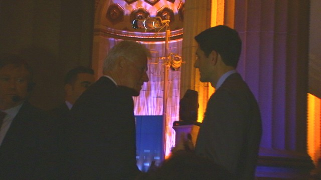VIDEO of President Clinton talking with Rep. Paul Ryan
