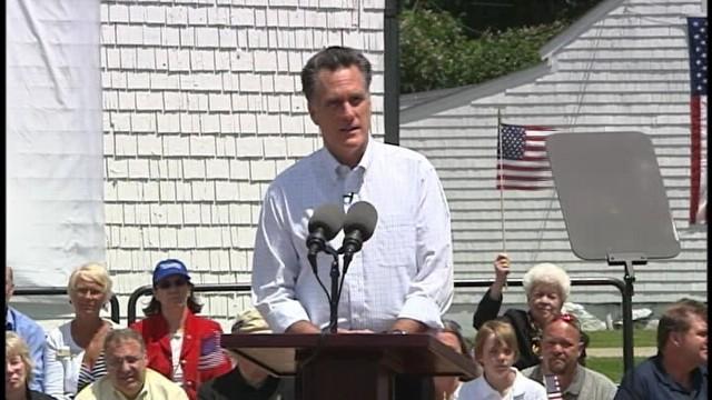 VIDEO of Mitt Romney Announcing Run for President