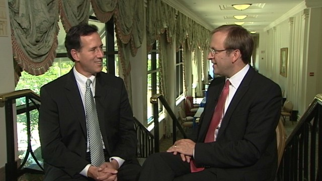 VIDEO of Senator Rick Santorum on ABCs Subway Series