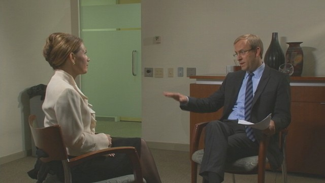 VIDEO of Michele Bachmann talking tax code with ABC News Jonathan Karl