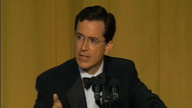 VIDEO: WHCD Memories: Stephen Colbert's Shout Out to Generals