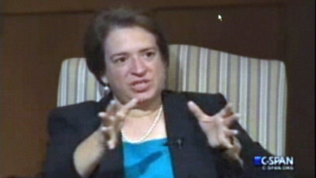VIDEO: Kagan On Her Female Colleagues: None Of Us Are Shrinking Violets