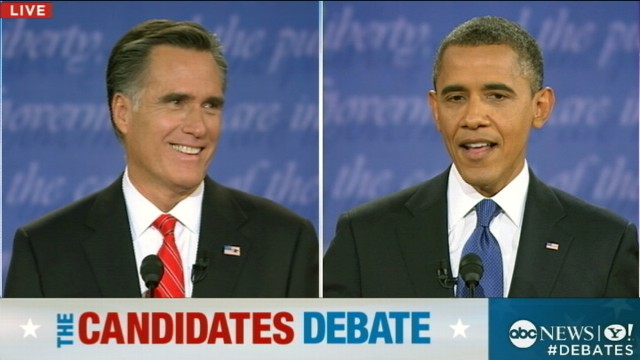 VIDEO: Presidential Debate: Obama Hits Romney With Massachusetts Law