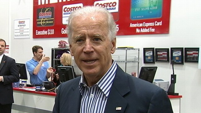 VIDEO: Biden Shopping at Costco Calls for Extension of Middle Class Tax Cuts