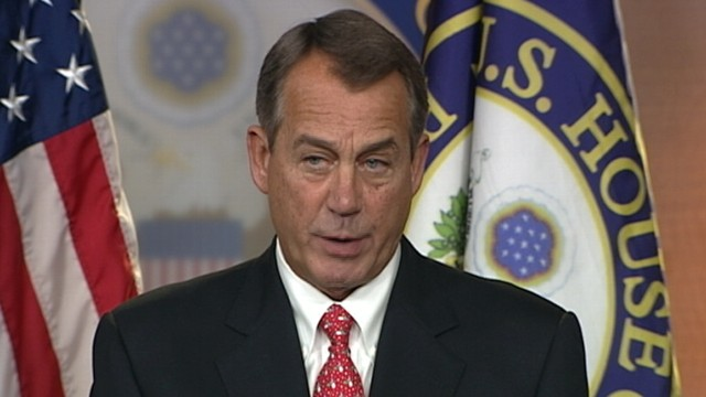 VIDEO: Boehner on Solution to Fiscal Cliff: How We Get There, God Only Knows