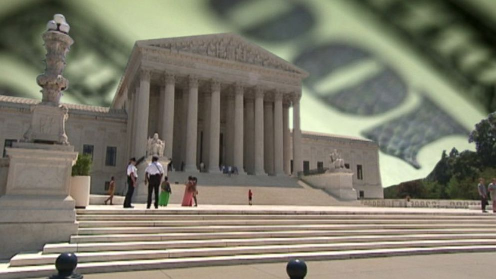 VIDEO: Opening the floodgates of campaign cash: Supreme Court loosens the reins on political contributions