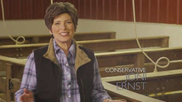 "VIDEO: Iowa U.S. senate contender says she ""grew up castrating hogs."""