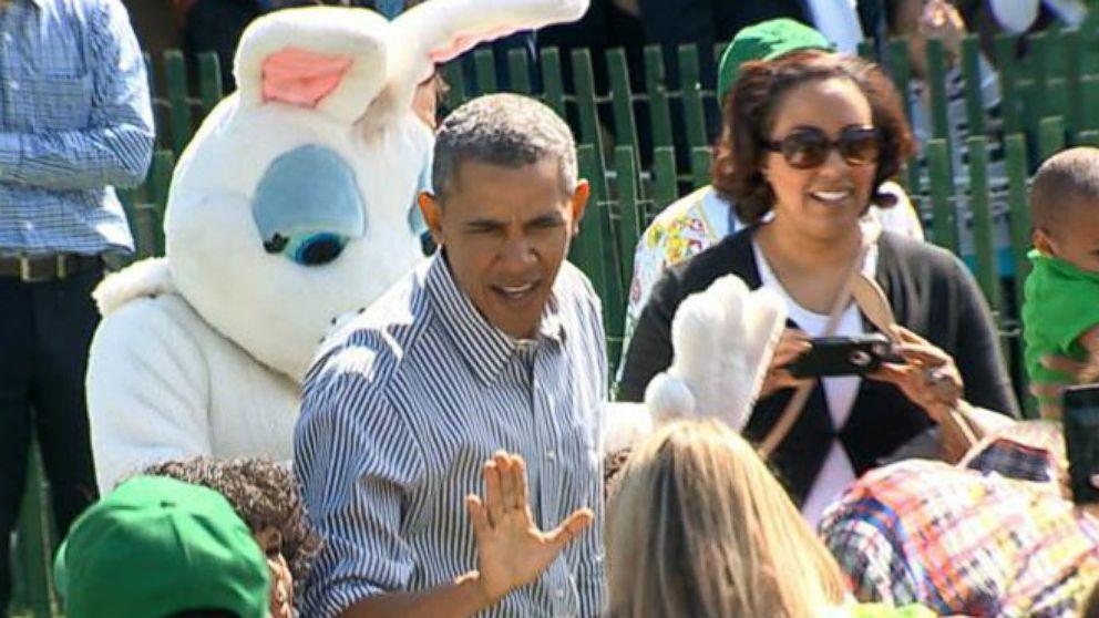 VIDEO: President Obama Upholds Easter Egg Roll Tradition