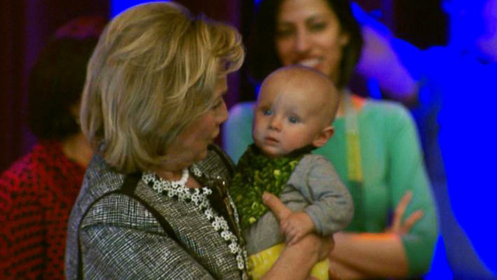 VIDEO: Hillary Clinton Has Tough Words and Tender Moments at Book Event