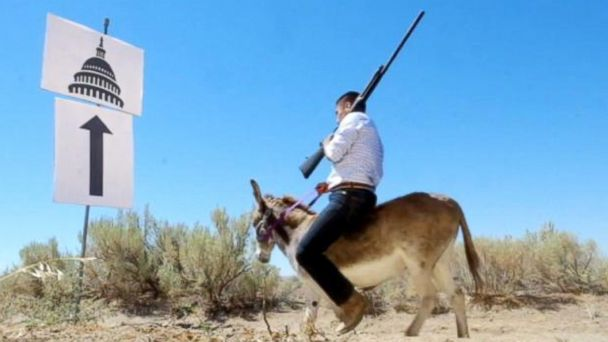 VIDEO: Gun-Slinging Democrat Takes A Shot At Republicans