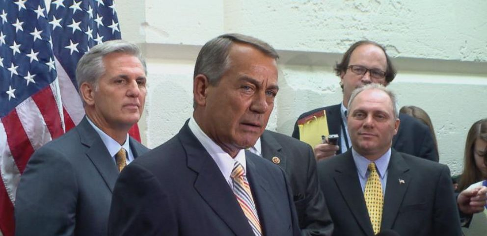 VIDEO: Boehner Calls Impeachment A Scam Started By Democrats