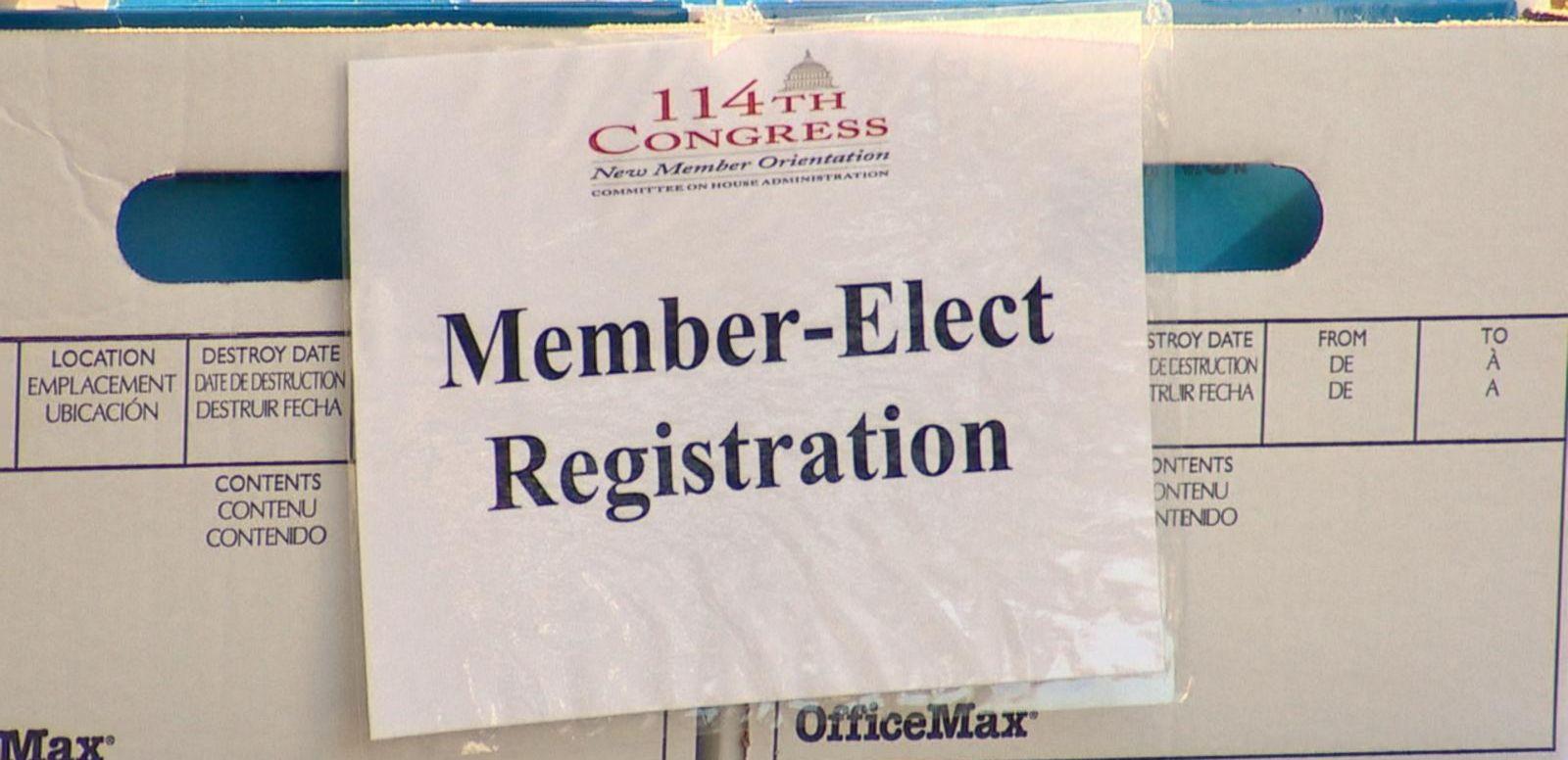 VIDEO: Congressional Freshman Get First Taste of Washington
