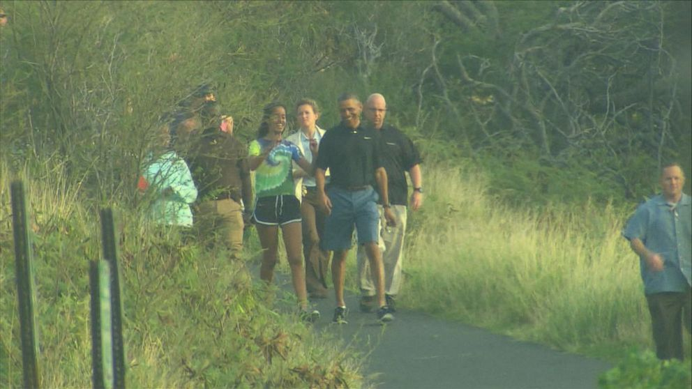VIDEO: President Obama Takes A Hike In Hawaii