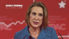 VIDEO: In a Minute: Carly Fiorina
