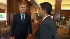 VIDEO: Jeb Bush Compares Himself to Former Presidential Candidate John McCain