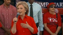 VIDEO: Hillary Clinton Shows Up at Union Rally Protesting Donald Trumps Las Vegas Hotel