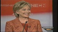 VIDEO: Hillary Clinton Distances Herself from Bill