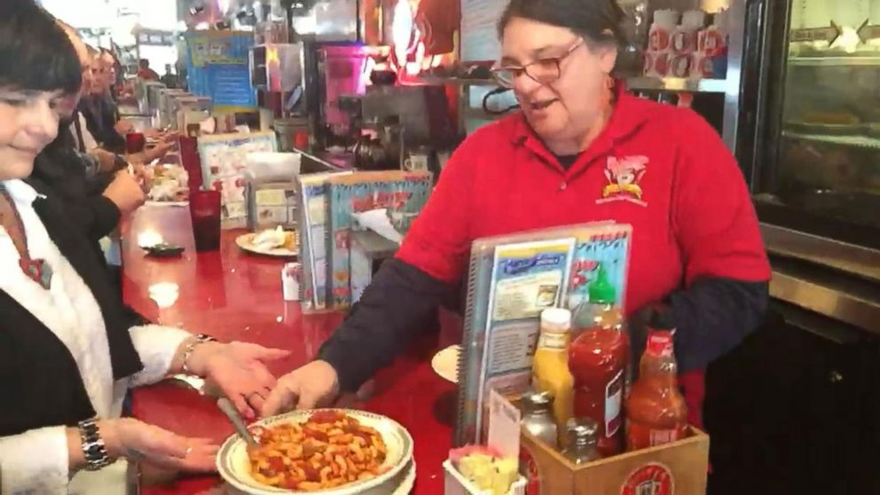 VIDEO: ABC Gets The Red Arrow Diner Welcome