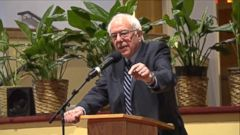 VIDEO: Bernie Sanders Takes His Message to South Carolina Churches