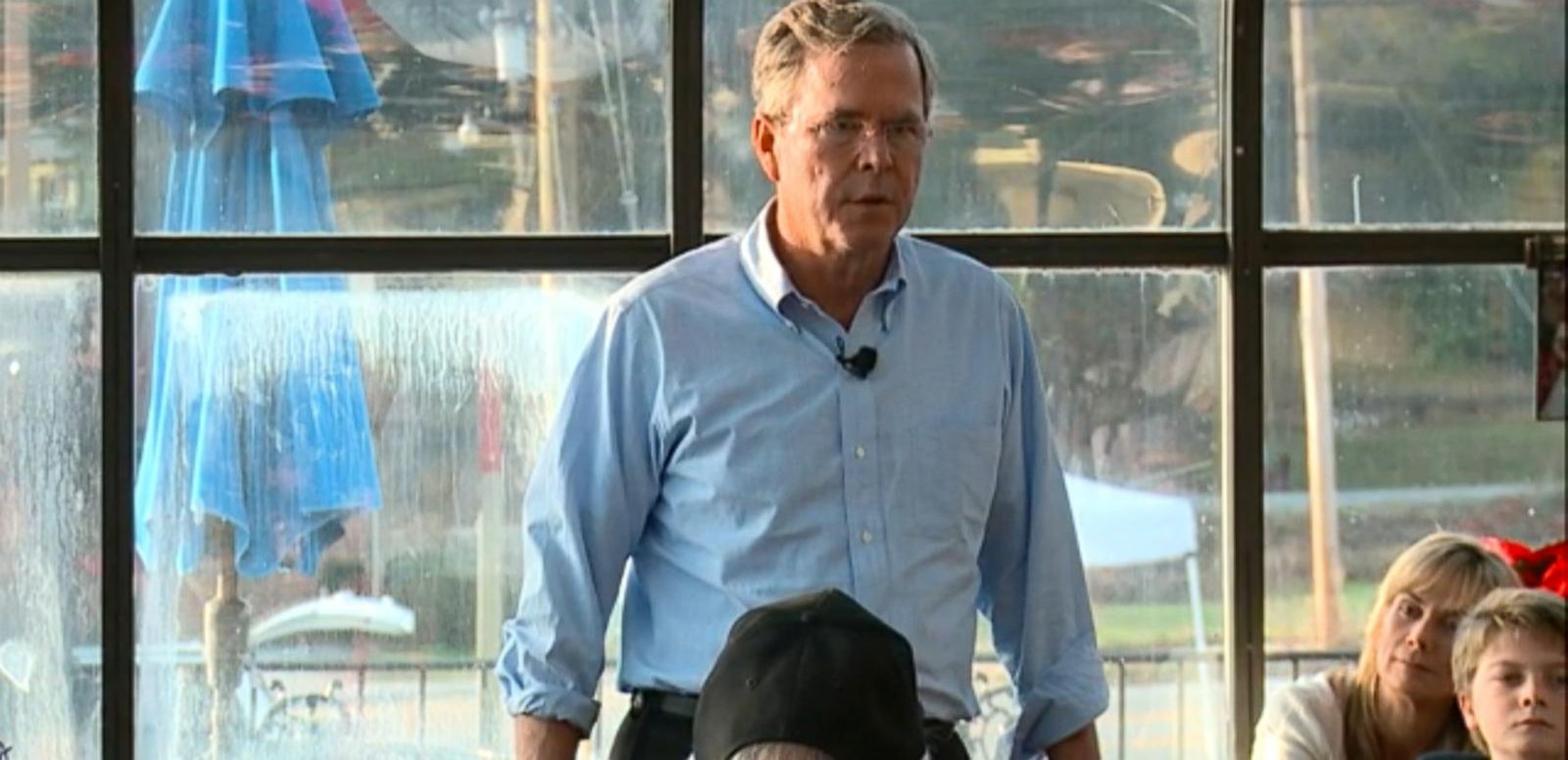 VIDEO: Jeb Bush Makes Bacon Joke 'I was Like the Pig in the Breakfast Experience'