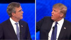 VIDEO: Trump Elicits Boos From Debate Audience After Spat With Bush