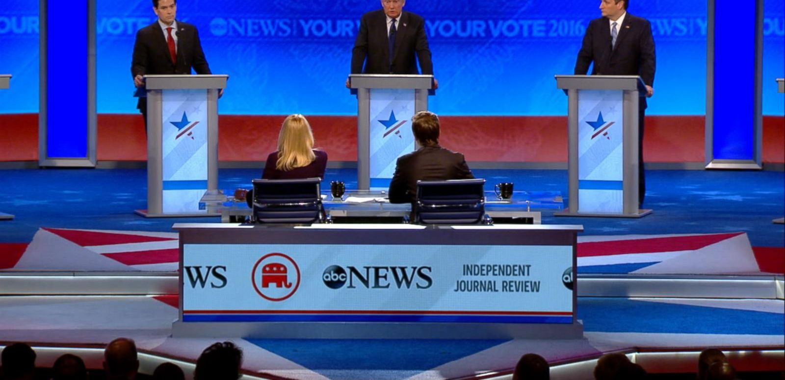 VIDEO: 02/06/16: Republican Presidential Debate