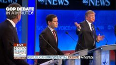 VIDEO: Eighth Republican Presidential Debate In A Minute