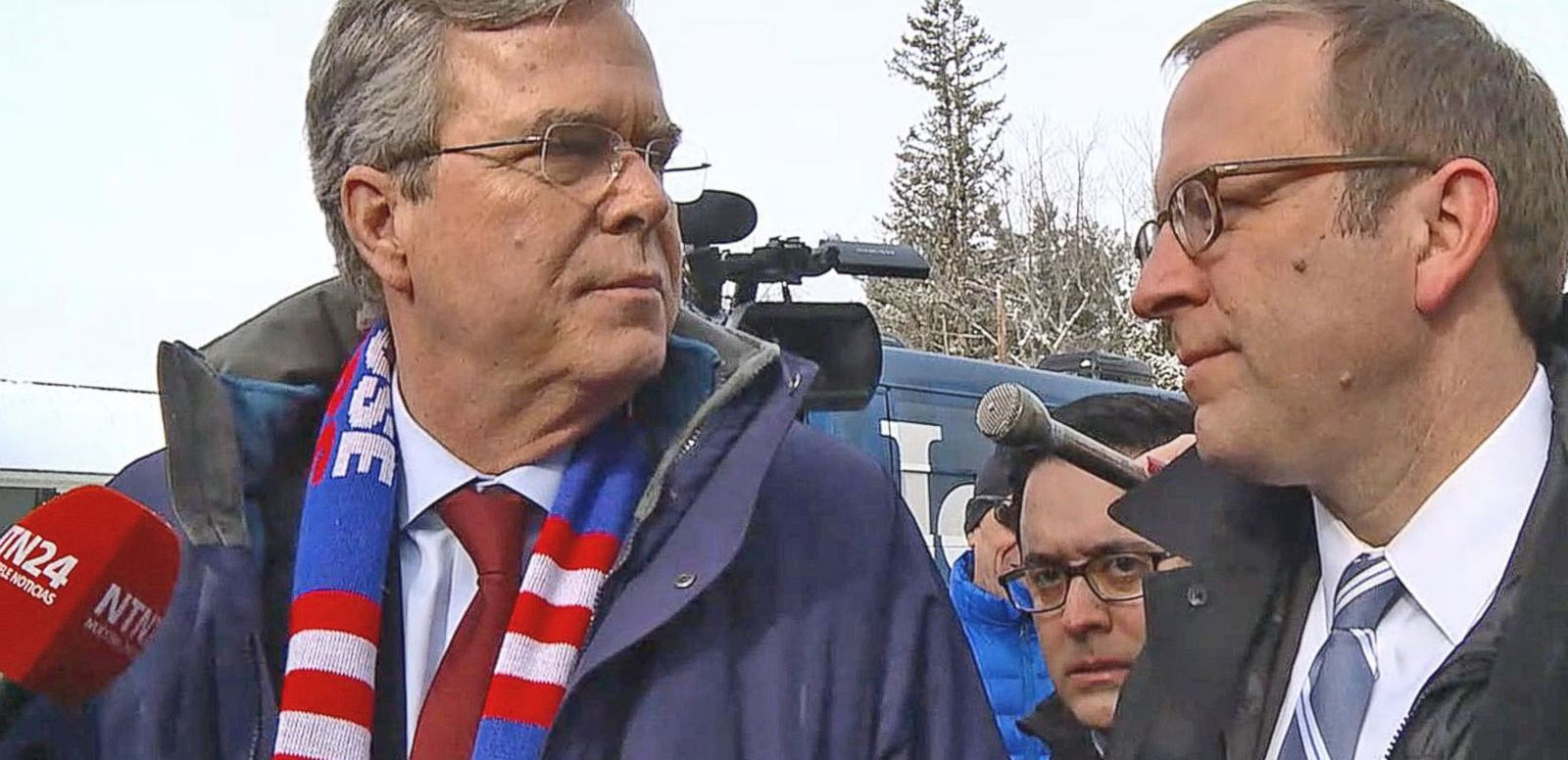 VIDEO: Jeb Bush Tells Jon Karl What He'd Say to Undecided Voters in New Hampshire