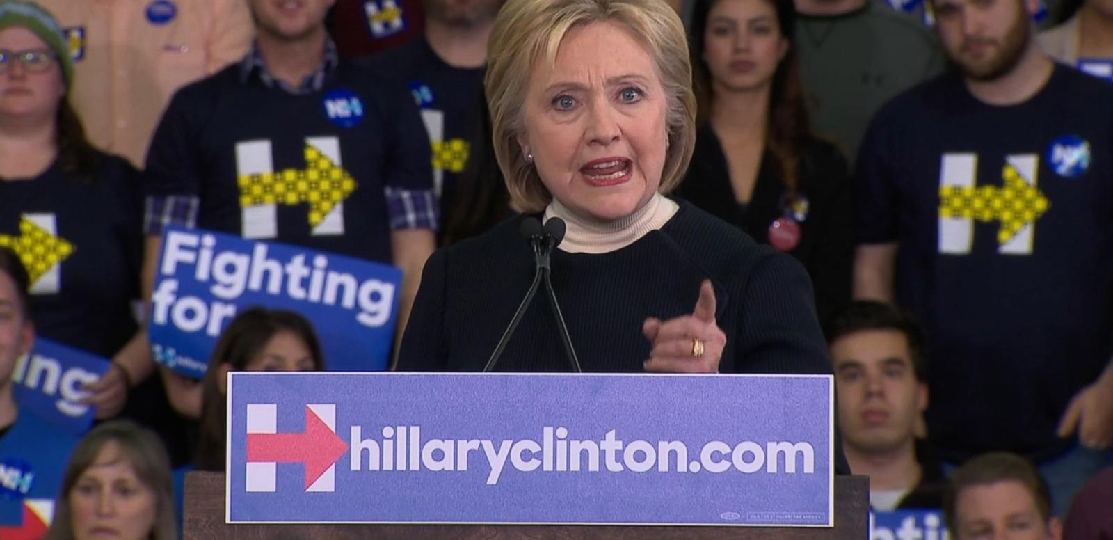 VIDEO: Hillary Clinton's Concession Speech in New Hampshire