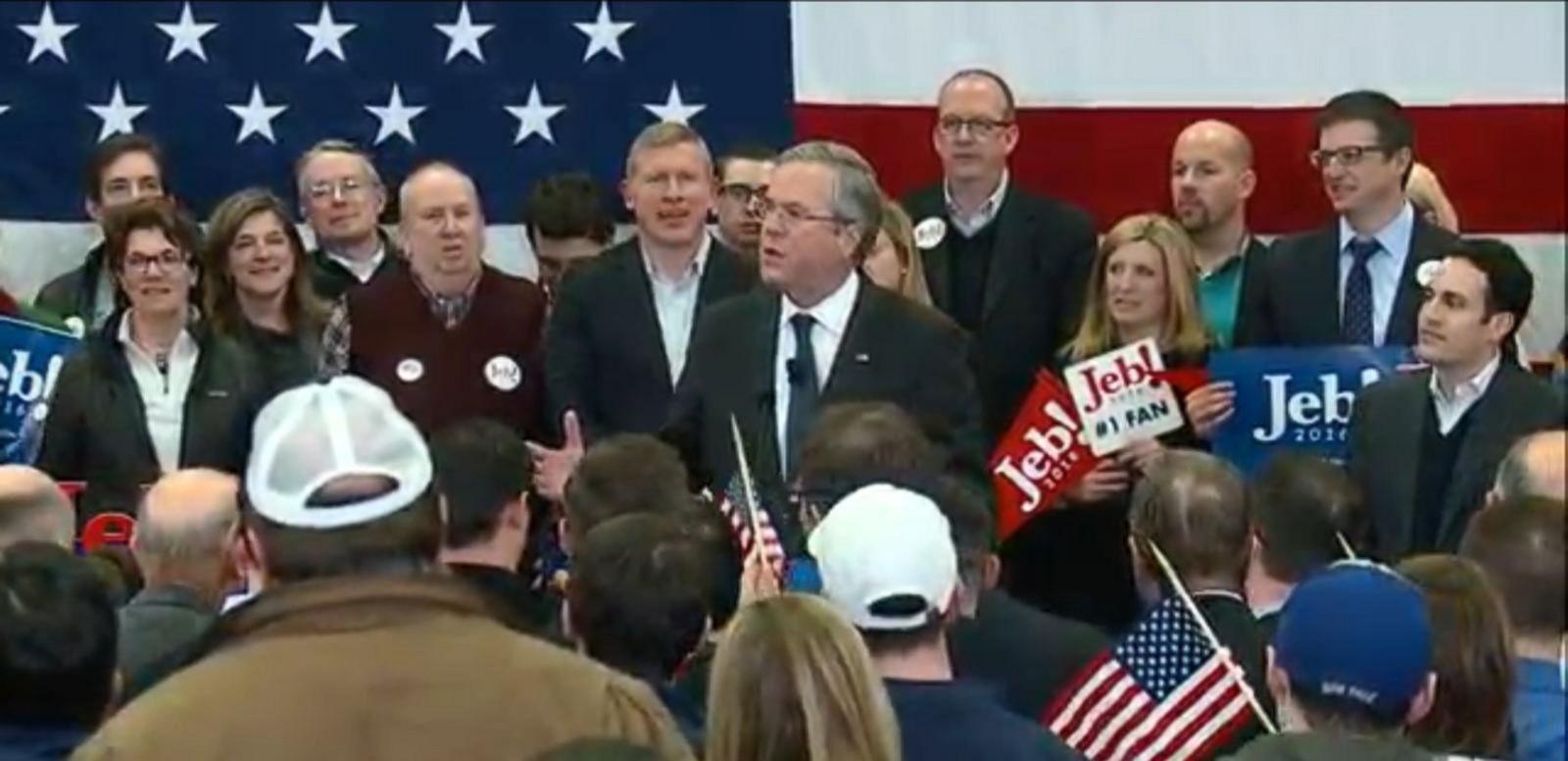 VIDEO: Jeb Bush's Concession Speech in New Hampshire