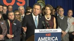 VIDEO: John Kasich Thanks Supporters in New Hampshire
