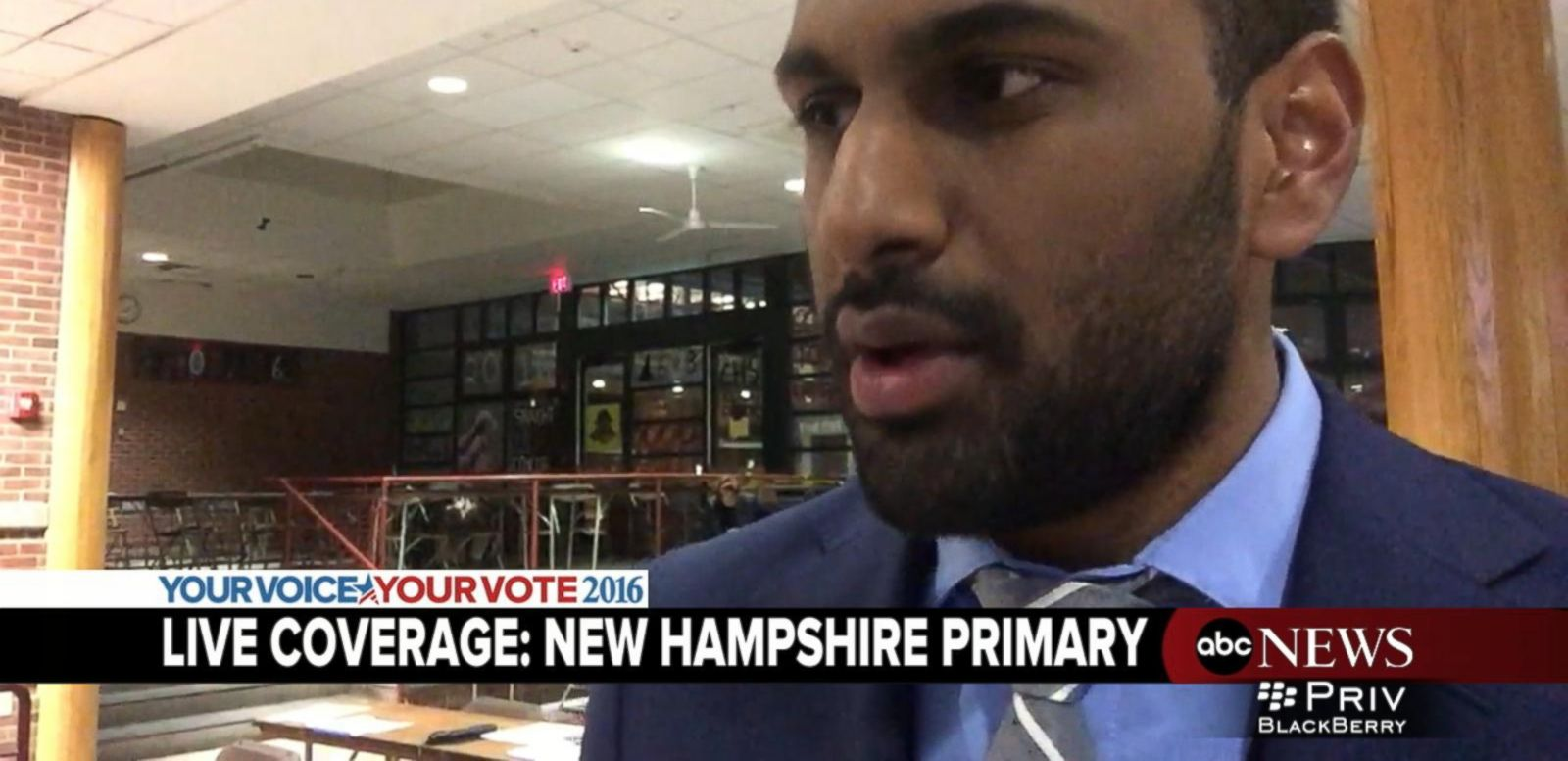 VIDEO: Sen. Bernie Sanders' Staffer Reacts to New Hampshire Primary Win