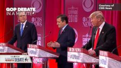 VIDEO: Ninth Republican Presidential Debate In A Minute