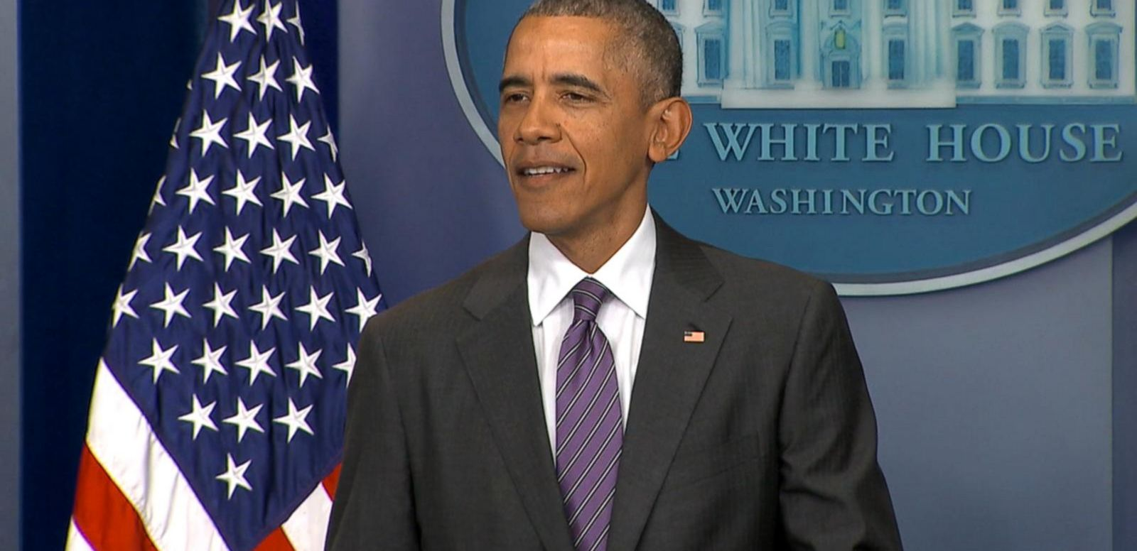 President Obama interrupted the briefing to talk about Pay As You Earn.