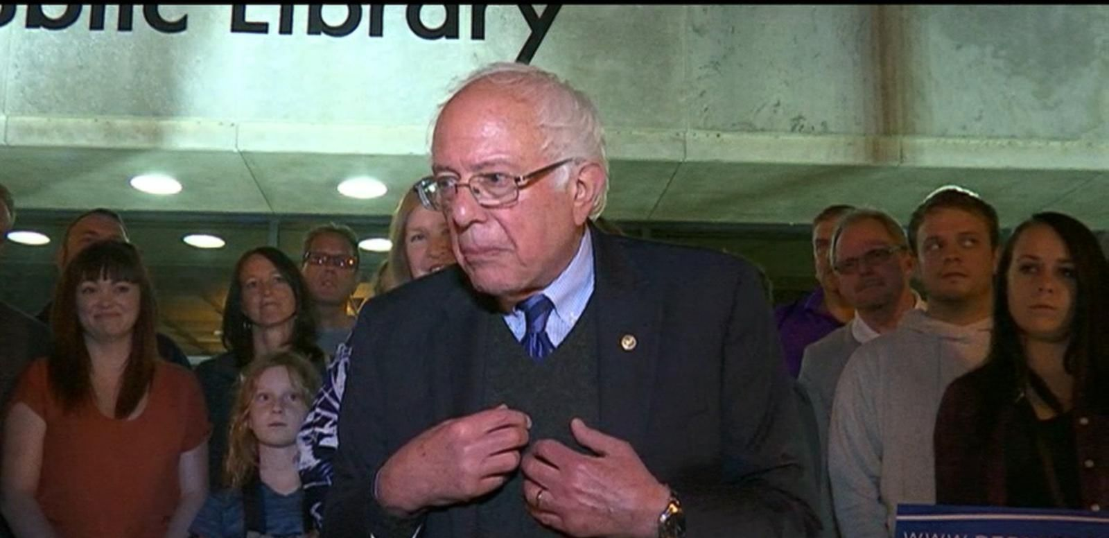 VIDEO: Bernie Sanders Delivers Remarks Amid Projected Indiana Primary Victory