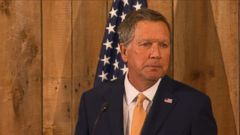 As I suspend my campaign today, I have renewed faith, Kasich said.