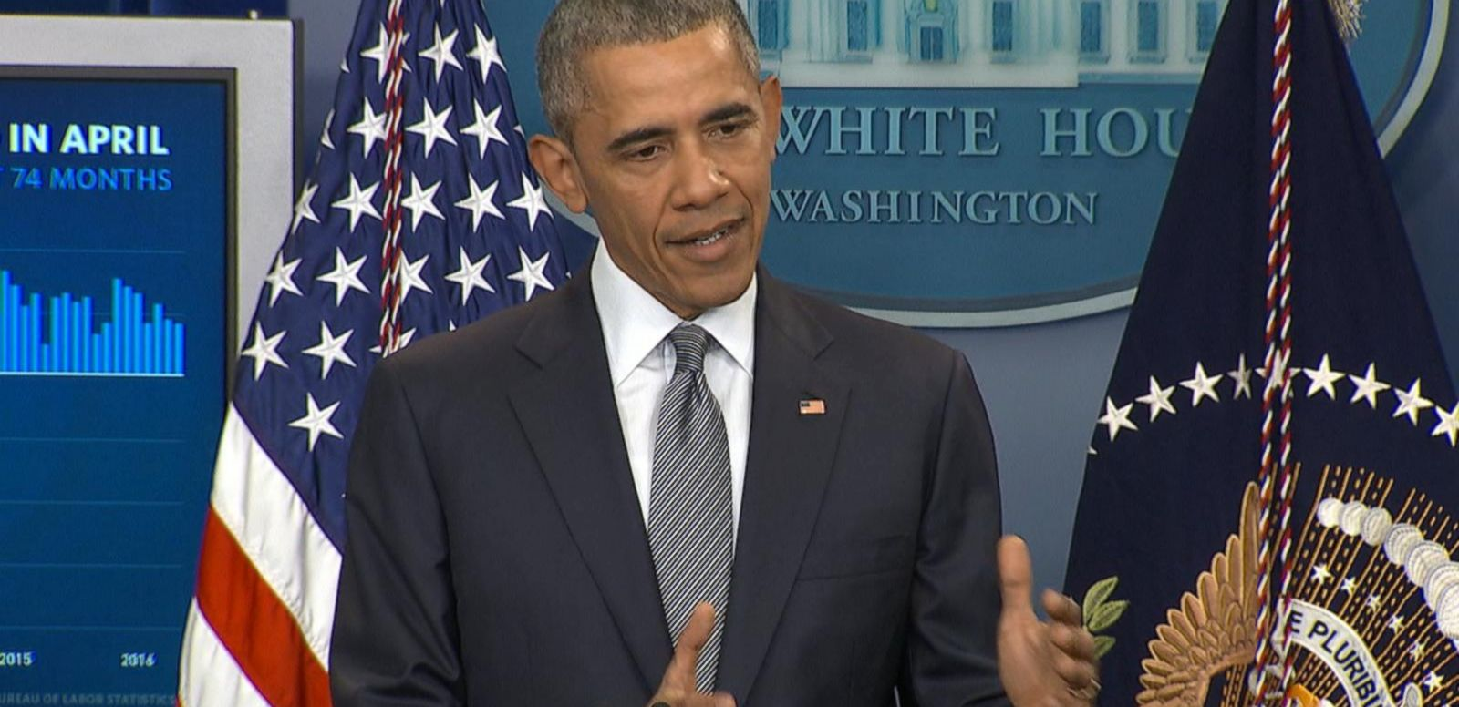 """Let's let the process play itself out,"" said President Obama."