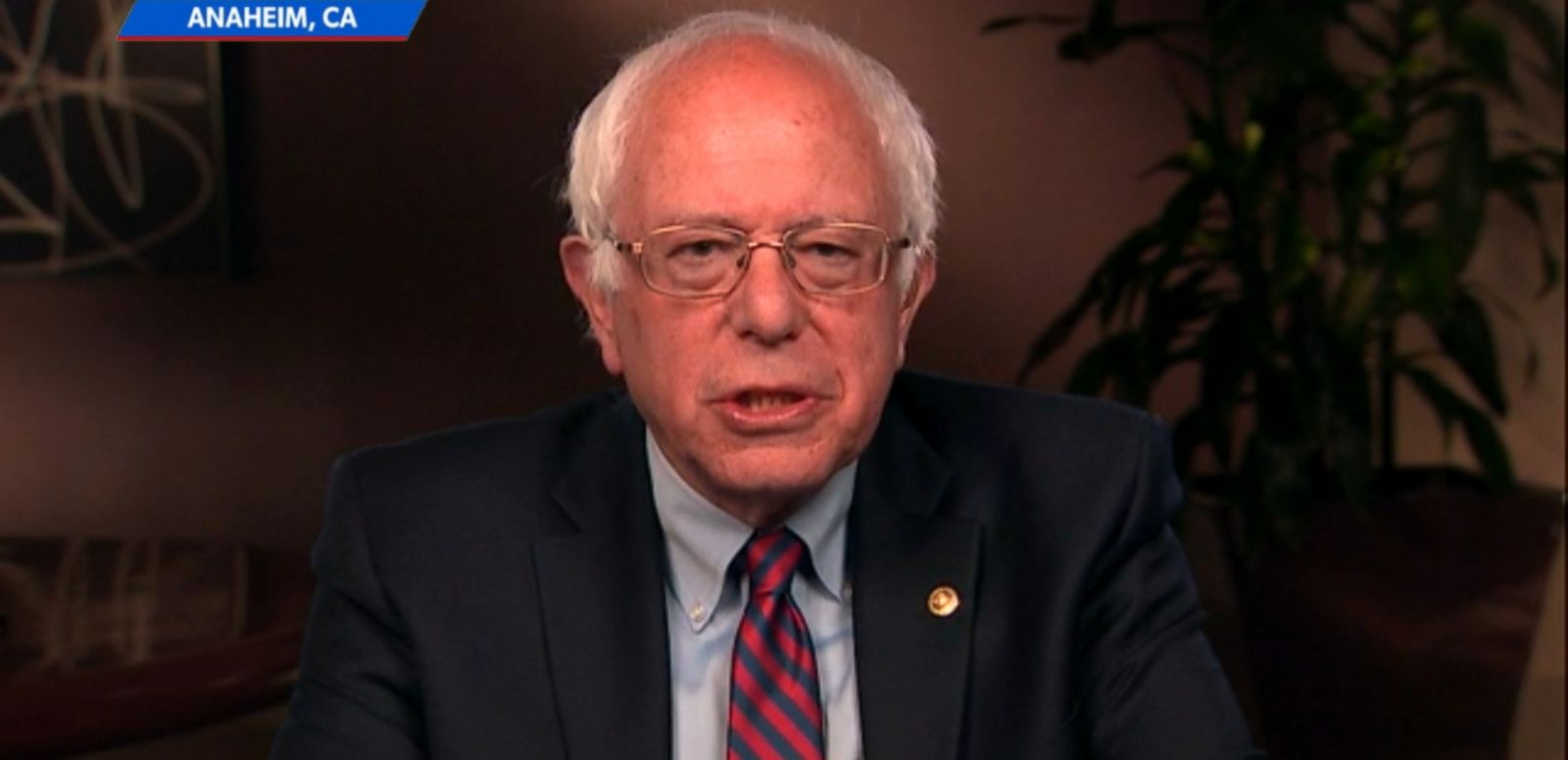 "VIDEO: Democratic presidential candidate Bernie Sanders argued today that he's ""absolutely not"" harming the Democratic Party by staying in the 2016 primary race, but rather ""invigorating"" the party."