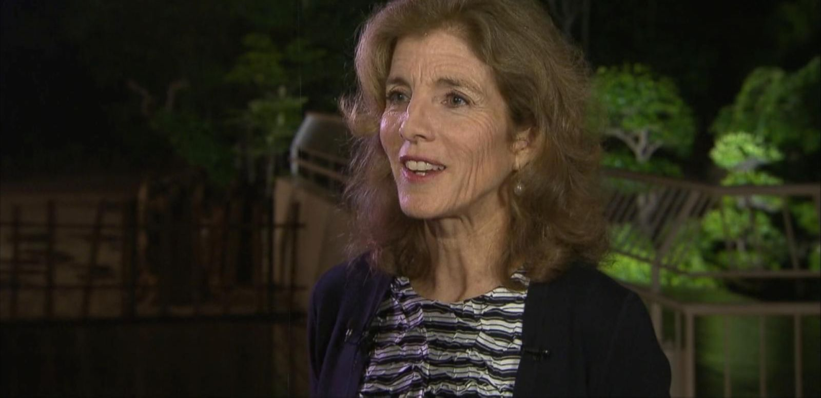 VIDEO: Caroline Kennedy Talks Trump Rhetoric's Impact in Japan